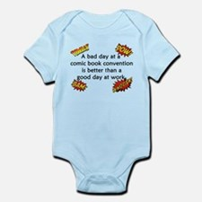 Comic Book Conventions Infant Bodysuit