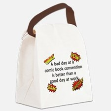 Comic Book Conventions Canvas Lunch Bag