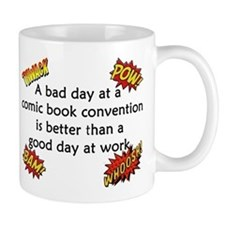 Comic Book Conventions Small Mug