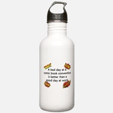 Comic Book Conventions Water Bottle