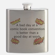Comic Book Conventions Flask
