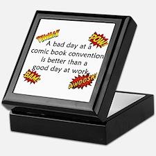 Comic Book Conventions Keepsake Box