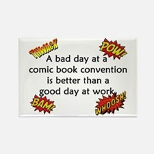 Comic Book Conventions Rectangle Magnet