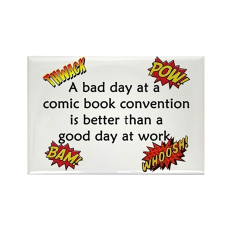 Comic Book Conventions Rectangle Magnet (10 pack)