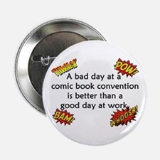 "Comic Book Conventions 2.25"" Button"