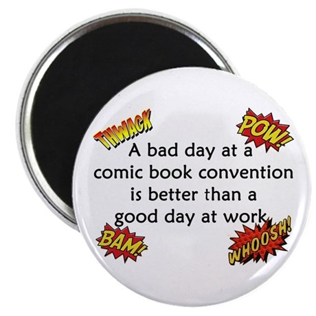 """Comic Book Conventions 2.25"""" Magnet (10 pack)"""