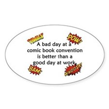 Comic Book Conventions Decal