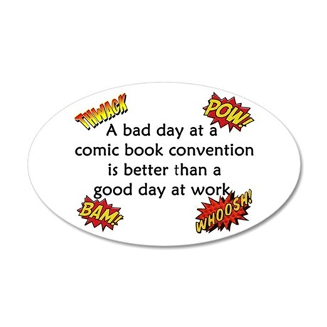 comic book conventions wall sticker by funnyvet who are you comic wall sticker tenstickers