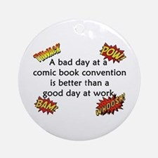 Comic Book Conventions Ornament (Round)