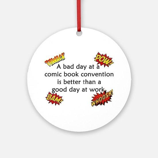 Comic Book Conventions Ornament (Round)