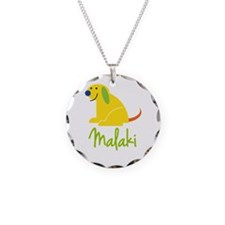 Malaki Loves Puppies Necklace