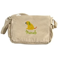 Marcelo Loves Puppies Messenger Bag