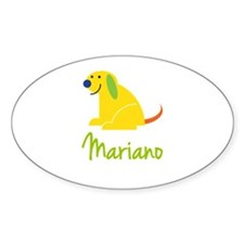 Mariano Loves Puppies Decal