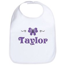 Purple Butterfly - Taylor Bib