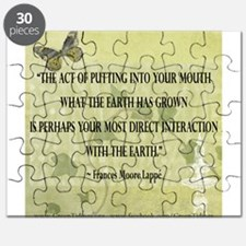 Interaction With The Earth Puzzle
