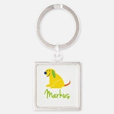 Markus Loves Puppies Keychains