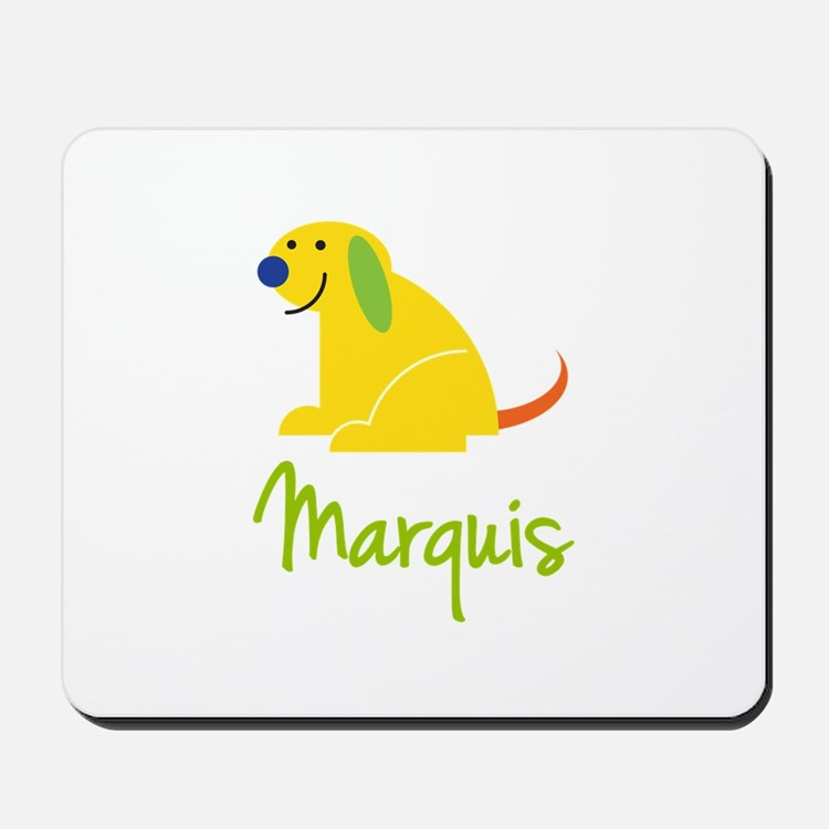 Marquis Loves Puppies Mousepad