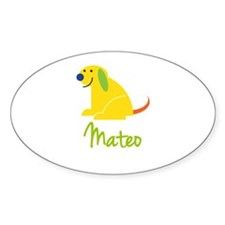 Mateo Loves Puppies Decal