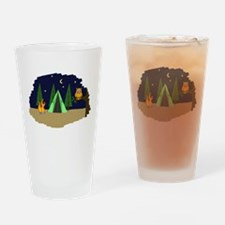 Campsite Drinking Glass