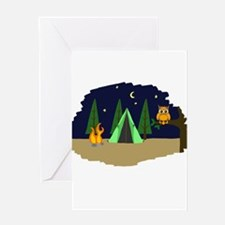 Campsite Greeting Card