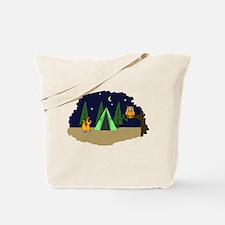 Campsite Tote Bag