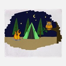 Campsite Throw Blanket