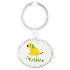 Mathias Loves Puppies Keychains