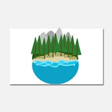 Lake Car Magnet 20 x 12