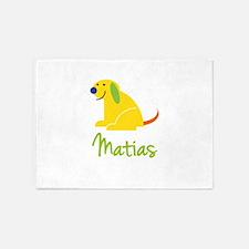 Matias Loves Puppies 5'x7'Area Rug