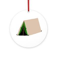 Tent Ornament (Round)