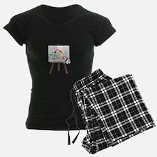 Artist Easel Pajamas