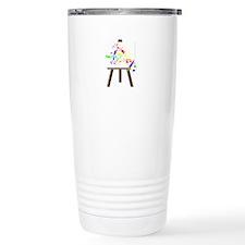 Artist Easel Travel Mug