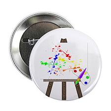 """Artist Easel 2.25"""" Button"""
