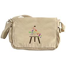 Artist Easel Messenger Bag