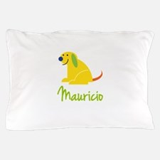 Mauricio Loves Puppies Pillow Case