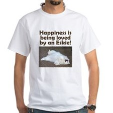 "American Eskimo ""Happiness"" T-Shirt"