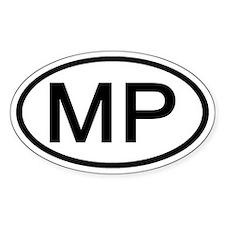 MP Oval - N. Mariana Islands Oval Decal