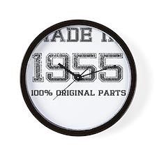 MADE IN 1955 100 PERCENT ORIGINAL PARTS Wall Clock