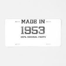 MADE IN 1953 100 PERCENT ORIGINAL PARTS Aluminum L
