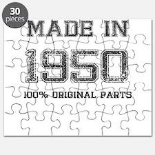 MADE IN 1950 100 PERCENT ORIGINAL PARTS Puzzle