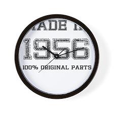 MADE IN 1956 100 PERCENT ORIGINAL PARTS Wall Clock