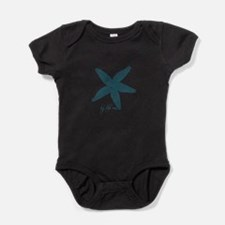 By the Sea Starfish Baby Bodysuit