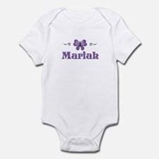 Purple Butterfly - Mariah Infant Bodysuit