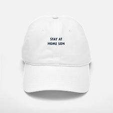 STAY AT HOME SON Baseball Baseball Baseball Cap