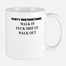 PARTY INSTRUCTIONS Mug