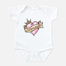 Sweetheart Stephanie Custom Princess Infant Bodysu