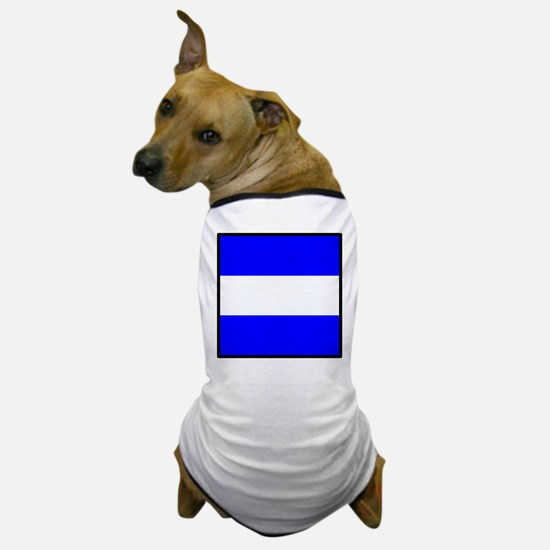 Nautical Flag Code Juliet Dog T-Shirt