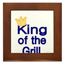 King of the Grill Framed Tile