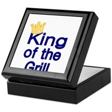 King of the Grill Keepsake Box
