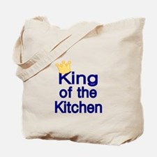 King of the Kitchen Tote Bag